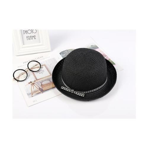 USUPSO หมวก Summer Ribbon สีดำ