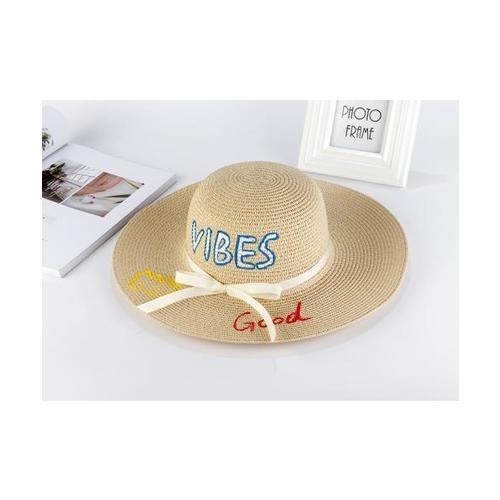 USUPSO  หมวกปีก Summer Painted สีแอปปริค็อต -