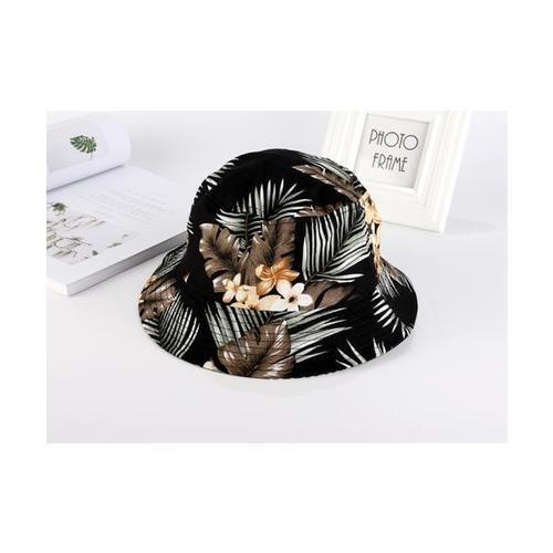 USUPSO หมวก  Flower Fisherman สีดำ
