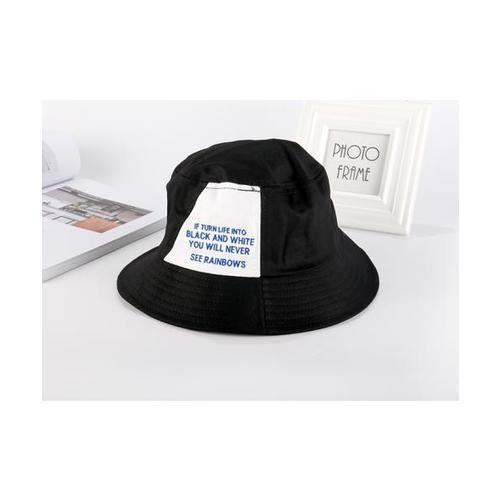 USUPSO หมวก decorative fisher สีดำ - สีดำ