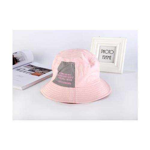 USUPSO หมวก decorative fisher สีชมพู - สีชมพู