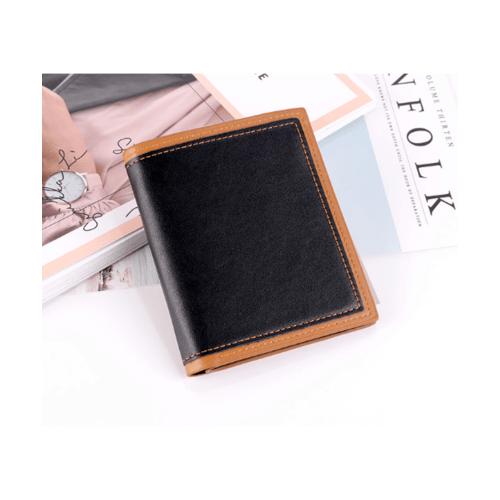 USUPSO  กระเป๋าเงินผู้ชาย  - สีดำ
