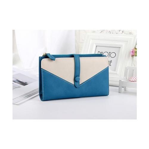 USUPSO กระเป๋าเงินผู้หญิง  - สีน้ำเงิน