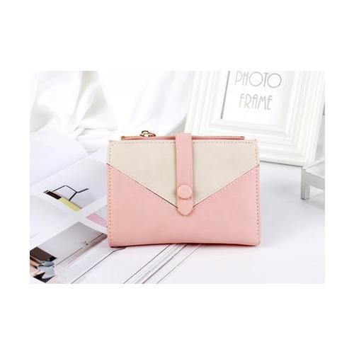 USUPSO  กระเป๋าเงินผู้หญิง  - สีชมพู