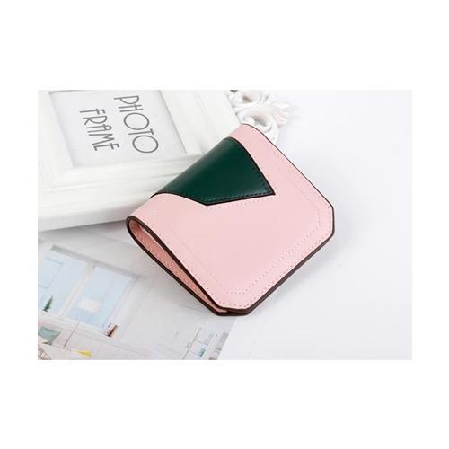 USUPSO กระเป๋าเงินผู้หญิง  สีครีม สีชมพู