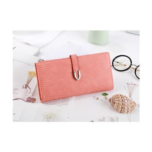 USUPSO  กระเป๋าเงินผู้หญิง  สีส้ม