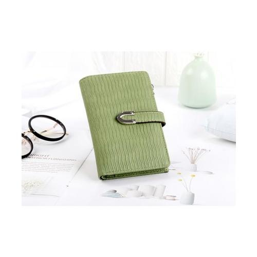 USUPSO  กระเป๋าเงินผู้หญิง  สีเขียว