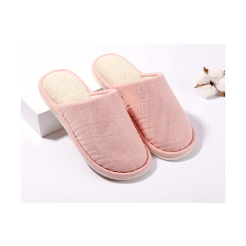 USUPSO รองเท้าสลิปเปอร์ ขนนุ่ม No.39-40 (#BK9) สีชมพู