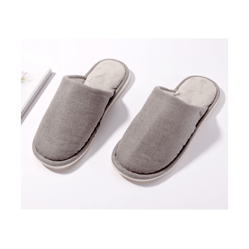 USUPSO  รองเท้าสลิปเปอร์ ขนนุ่ม No.41-42 (#BK9) สีเทา