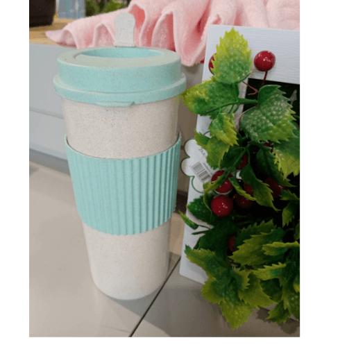 USUPSO  แก้วกาแฟ ขนาด  550ml. สีฟ้า