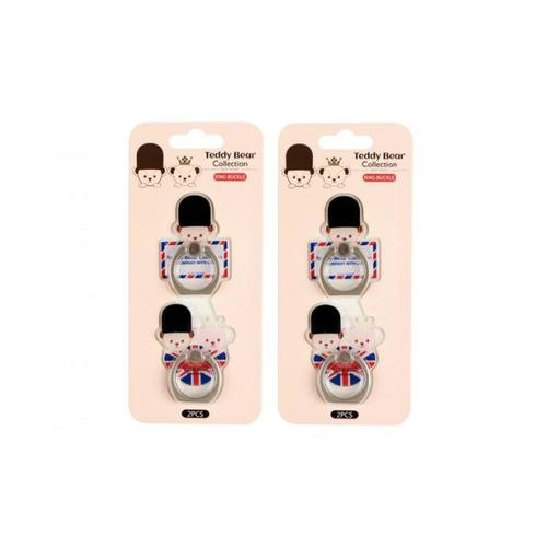 USUPSO  พวงกุญแจ สำหรับติดโทรศัพท์ Teddy collection (styling) -
