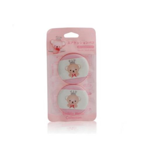 USUPSO พัฟ  Teddy collection สีชมพู