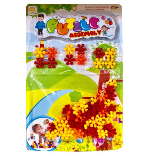 Sanook&Toys ชุดบล็อค Flower piece 296498