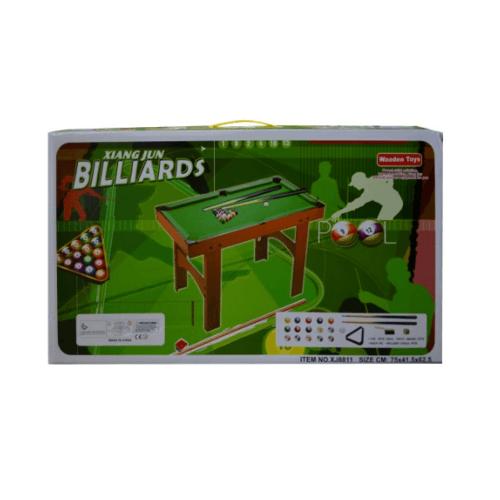 Sanook&Toys  โต๊ะสนุ๊กเกอร์ ของเล่น  XJ8809 สีเขียว