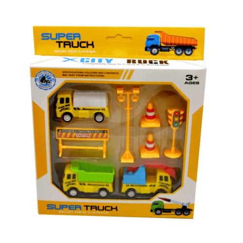 Sanook&Toys  ชุดรถ truck  298753 สีเหลือง