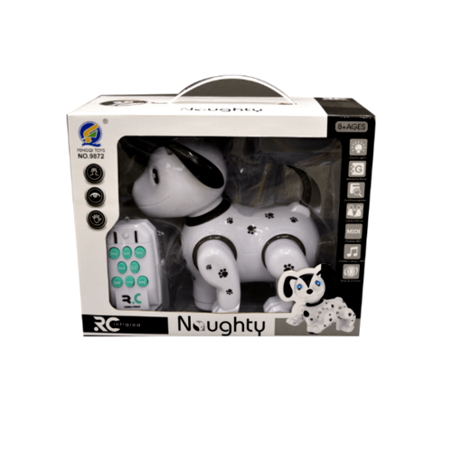 Sanook&Toys Toys หุ่นยนต์สุนัข R/C  298934 สีขาว