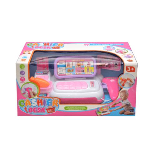 Sanook&Toys  ชุดซุปเปอร์มาร์เก็ต 298797 สีชมพู