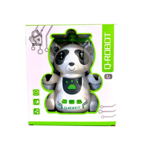 Sanook&Toys  หุ่นยนต์  PANDA VERSION 276495 สีขาว
