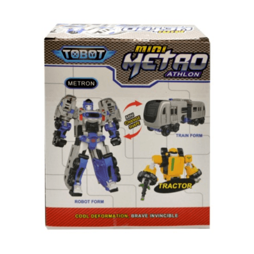 Sanook&Toys  หุ่นยนต์ Shape-shifting 298354 สีขาว