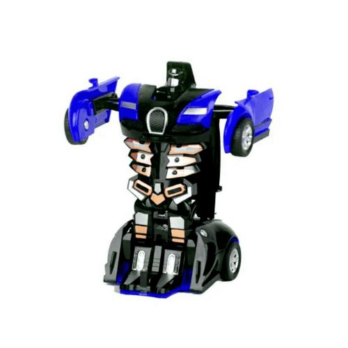 Sanook&Toys Toys ชุด Deformation of the car  296693 สีน้ำเงิน