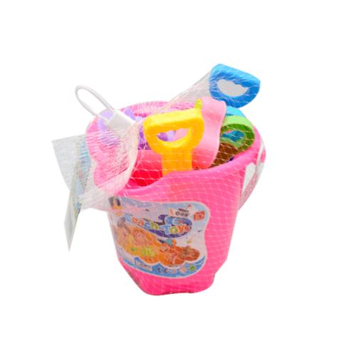 Sanook&Toys  ชุดของเล่นชายหาด 12PCS  272425 สีชมพู