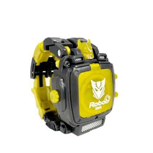 Sanook&Toys หุ่นยนต์ deformation  296497 สีเหลือง