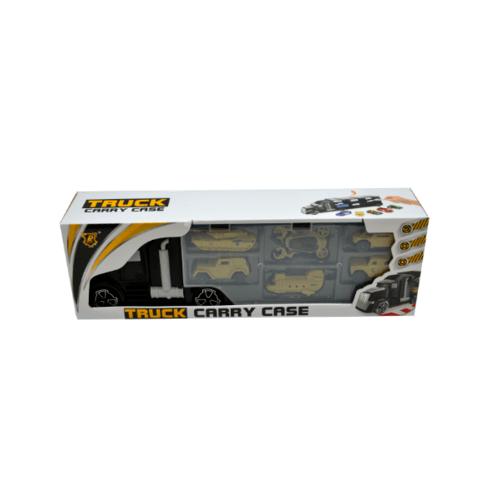 Sanook&Toys  รถบรรทุกคอนเทนเนอร์  288529 สีเหลือง