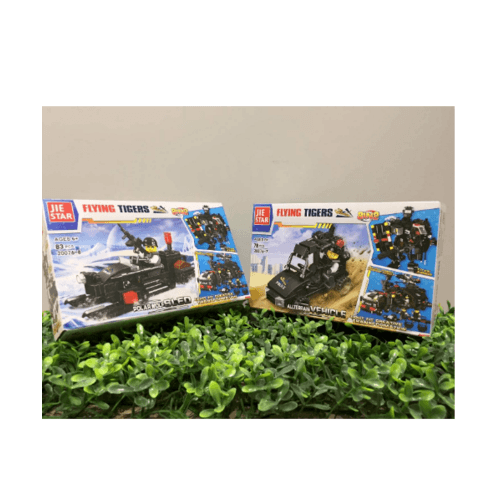 Sanook&Toys ชุดตัวต่อ Special Police Flying Tigers  20076