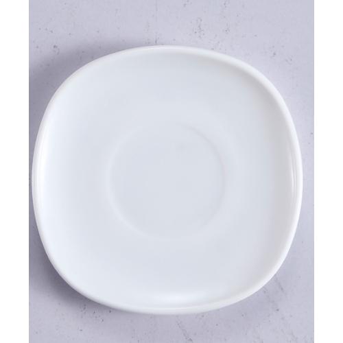 ADAMAS จานรองแก้วโอปอล  ขนาด 4.5 นิ้ว FXP45 ขาว