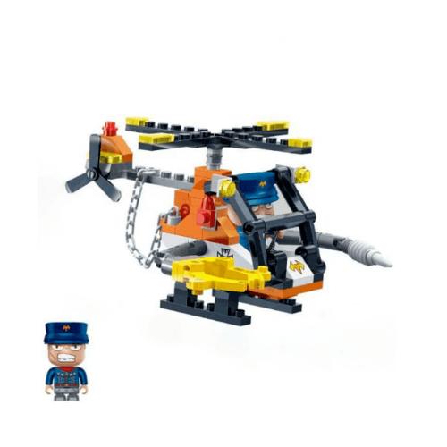 Sanook&Toys  บล็อกตัวต่อชุดเล็ก 6230 สีส้ม