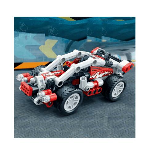 Sanook&Toys Toys Banbao บล็อกตัวต่อชุดเล็ก 6966 สีขาว