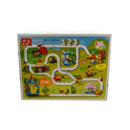 Sanook&Toys  บล็อกตัวต่อชุดใหญ่  9225 สีเขียว