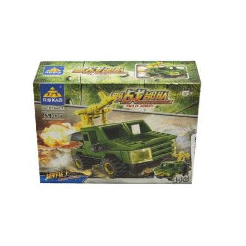 Sanook&Toys Toys ชุด Field force  84035#1-8 สีเขียว