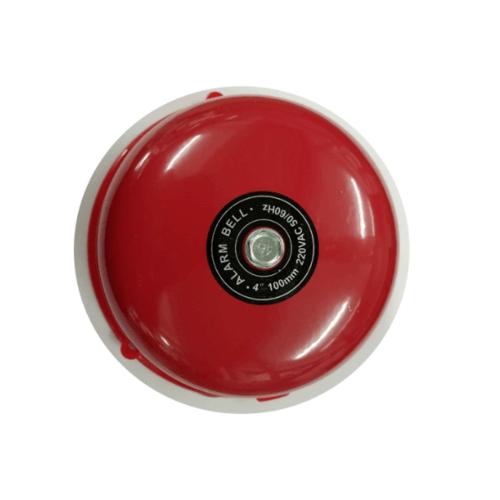 PP สวิตซ์กระดิ่ง 4 นิ้ว สีแดง