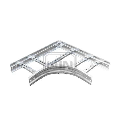 WIN โค้งฉากเคเบิ้ลแลดเดอร์ 200x100 mm.  ชุบ Hot-Dip Galvanized