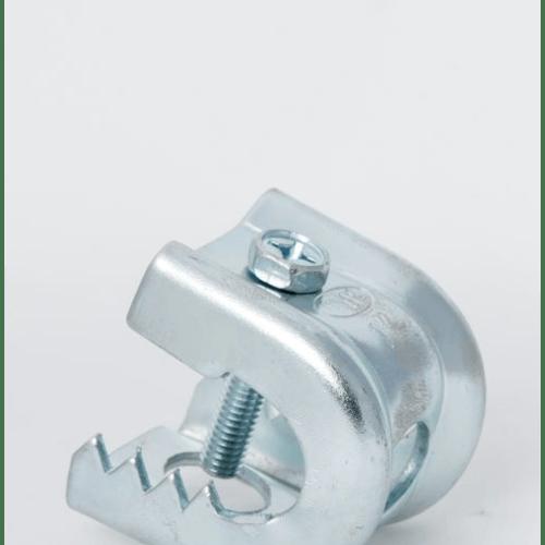 SC แคล้มฟันจระเข้ Size 1 (14mm) สีเงิน null
