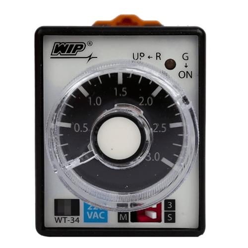 WIP ไทม์เมอร์ WT-34 220V. (C) สีดำ