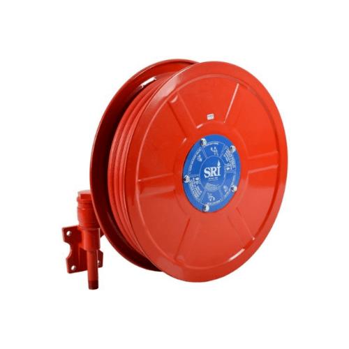 SRI สายดับเพลิงกงล้อ ยี่ห้อ SRI ขนาด 1 SRI Hose Reel สีแดง