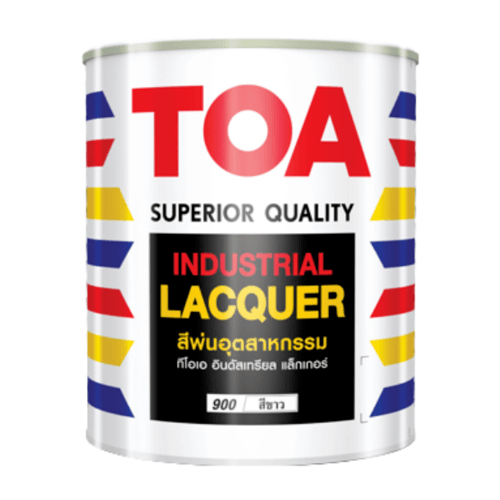 TOA สีพ่นอุตสาหกรรม กึ่งเงา 1 กล  #888 null