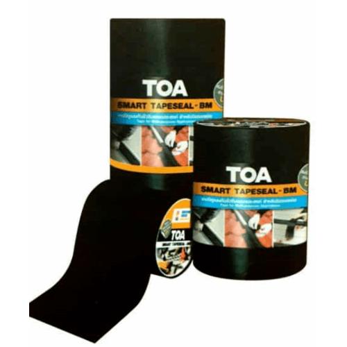 TOA ทีโอเอ สมาร์ท เทปซีล-บีเอ็ม #10ซม. X 3ม. - สีดำ