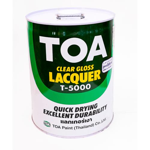 TOA แลคเกอร์เงา T-5000