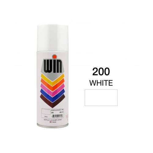 TOA สีสเปรย์ขนาด 400cc. WIN-200 สีขาว