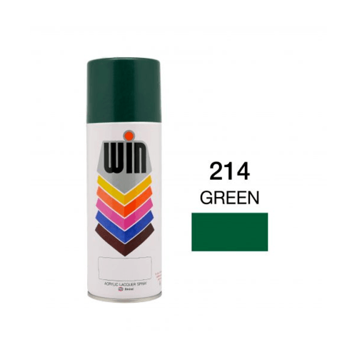 TOA สีสเปรย์ขนาด 400cc. WIN-214 สีเขียว