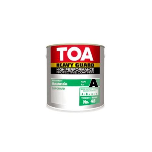 TOA สีทับหน้าโพลียูริเทน ท๊อปการ์ด Part A  ขนาด 1 gl. 5010