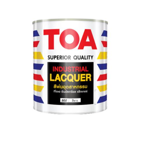 TOA สีพ่นอุตสาหกรรมด้าน 5 ก.ล. 0911