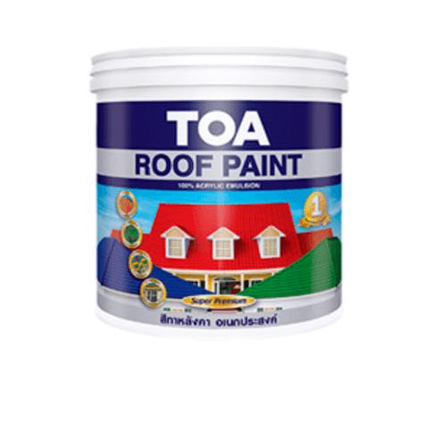 TOA สีน้ำอะครีลิคทาหลังคา 1กล. R400