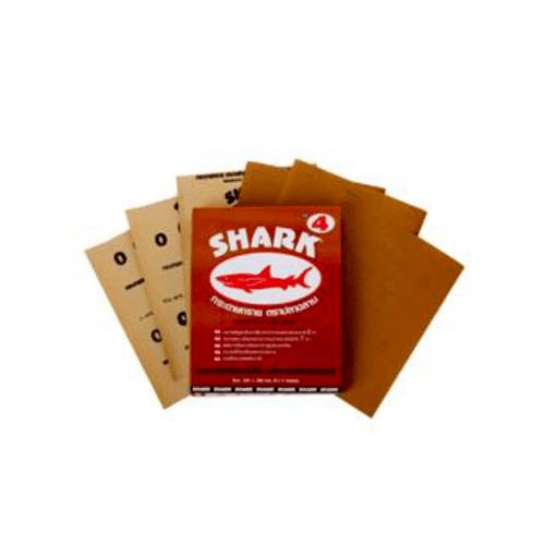 TOA กระดาษทรายขัดแห้ง  SHARK KACS  # 0004