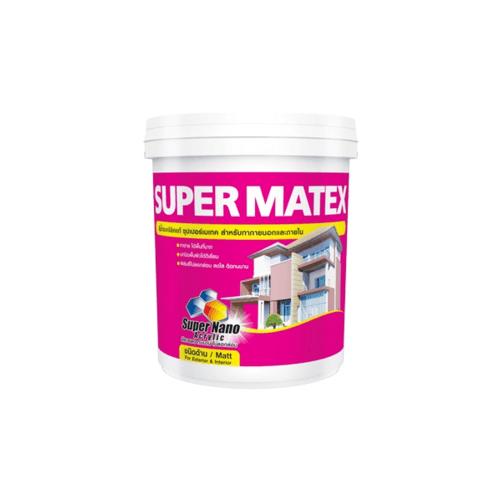 TOA Supermatex ซุปเปอร์ เมเทค สีน้ำด้าน ภายนอก 5 กล  #SM988