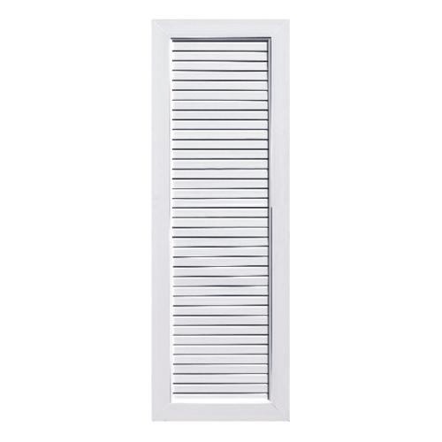 Eco door ประตู Profile ขนาด 80x200 CM.ไม่เจาะ  UB2 สีขาว