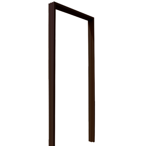 ECO DOOR วงกบ WPC ขนาด 80cm.x200cm.  OVSM-100 สีโอ๊ค
